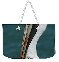 Weekender Tote Bag featuring the photograph Posing For The Tourists by Vivian Christopher