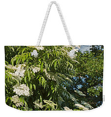 Weekender Tote Bag featuring the photograph Potchen's Cascade by Joseph Yarbrough