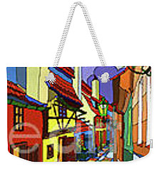Prague Golden Line Weekender Tote Bag