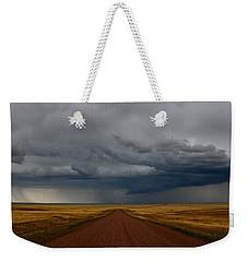 Prairie Storm In Canada Weekender Tote Bag