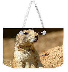 Prarie Dog Bee Alert Weekender Tote Bag by LeeAnn McLaneGoetz McLaneGoetzStudioLLCcom