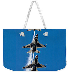 Weekender Tote Bag featuring the photograph Precision by Dan Wells
