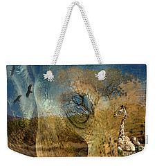 Weekender Tote Bag featuring the photograph Preservation by Vicki Pelham