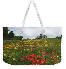 Weekender Tote Bag featuring the photograph Presidio La Bahia 1 by Susan Rovira