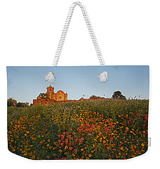 Weekender Tote Bag featuring the photograph Presidio La Bahia 3 by Susan Rovira