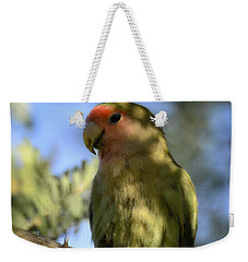 Pretty Bird Weekender Tote Bag by Saija  Lehtonen