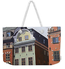 Pretty Faces Weekender Tote Bag by Alan Mager