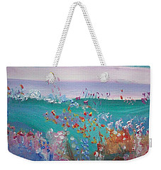 Pretty Garden Weekender Tote Bag by Judith Desrosiers