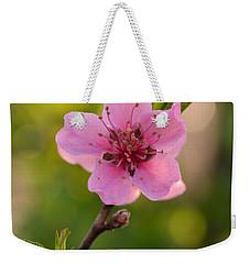 Pretty Pink Peach Weekender Tote Bag