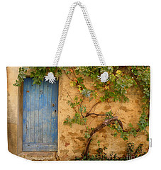 Weekender Tote Bag featuring the photograph Provence Door 5 by Lainie Wrightson