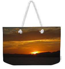 Weekender Tote Bag featuring the photograph Puerto Vallarta Sunset by Marilyn Wilson