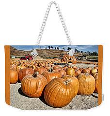 Pumpkin Patch 3 Weekender Tote Bag