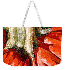 Pumpkin Stem Weekender Tote Bag
