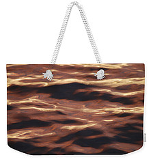 Purple Abstract Water Weekender Tote Bag