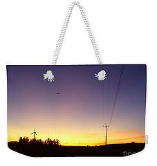 Purple Evening On The Island Weekender Tote Bag