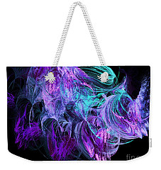 Purple Fusion Weekender Tote Bag