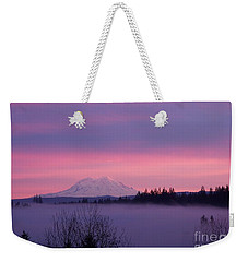 Purple Mountain Majesty Weekender Tote Bag by Chalet Roome-Rigdon