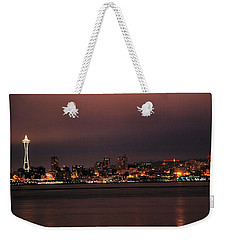 Purple Sky Morning Weekender Tote Bag