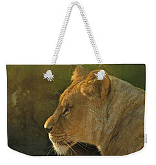 Pursuit Of Pride Weekender Tote Bag by Laddie Halupa
