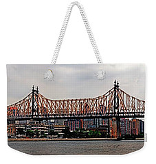 Queensboro Bridge Weekender Tote Bag
