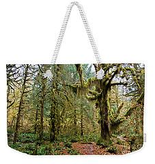 Rain Forest In Fall Weekender Tote Bag