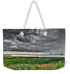 Rain Rolling In On The River Weekender Tote Bag