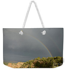 Rainbow At Grand Canyon Weekender Tote Bag