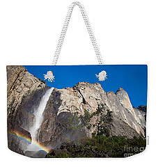 Rainbow On Bridalveil Fall Weekender Tote Bag
