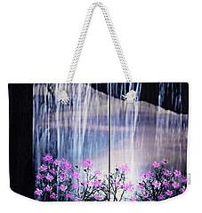 Weekender Tote Bag featuring the digital art Rainy Nights In Georgia by Sherri  Of Palm Springs
