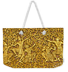 Weekender Tote Bag featuring the photograph Ramayana by Luciano Mortula