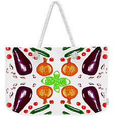 Weekender Tote Bag featuring the digital art Ratatouille by Barbara Moignard