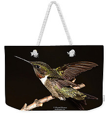Weekender Tote Bag featuring the photograph Ready Set Go Hummer by Randall Branham