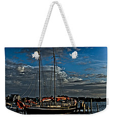 Ready To Sail Weekender Tote Bag by Ronald Lutz