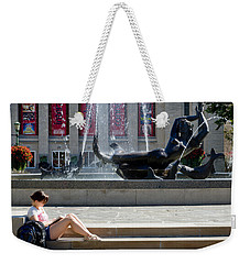 Reclining In The Sun Weekender Tote Bag by Michael Flood