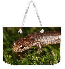 Red-backed Salamander Weekender Tote Bag by Ted Kinsman