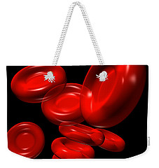 Red Blood Cells 2 Weekender Tote Bag