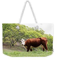 Red Cow Weekender Tote Bag