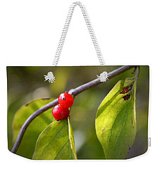 Red Fruits Weekender Tote Bag