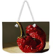 Red Pepper Weekender Tote Bag by Joe Schofield