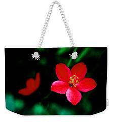Red Petaled Dream Weekender Tote Bag