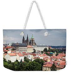 Red Rooftops Of Prague Weekender Tote Bag