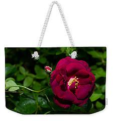 Red Rose In The Wild Weekender Tote Bag