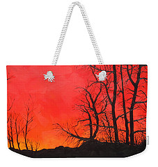 Red Sky  Weekender Tote Bag