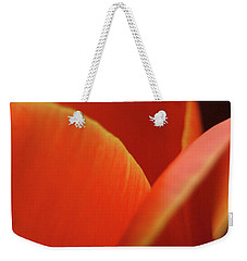 Red Tulip Weekender Tote Bag by Jeannette Hunt