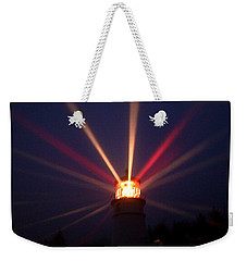 Reflected In The Fog Weekender Tote Bag by Nick Kloepping