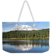 Reflection Lake - Mt. Rainier Weekender Tote Bag