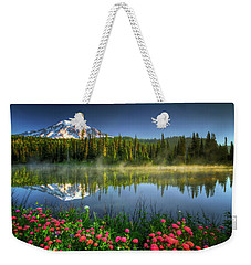 Reflection Lakes Weekender Tote Bag by William Lee