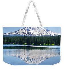 Reflection Of Adams Weekender Tote Bag