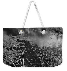 Weekender Tote Bag featuring the photograph Reflections In The Pond by Kathleen Grace