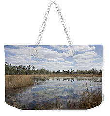 Weekender Tote Bag featuring the photograph Reflections by Lynn Palmer